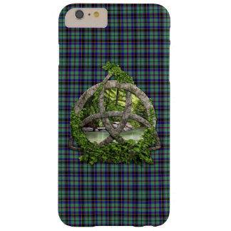 Clan Stevenson Tartan Celtic Trinity Barely There iPhone 6 Plus Case