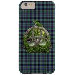 Clan Stevenson Tartan Celtic Trinity Barely There iPhone 6 Plus Case