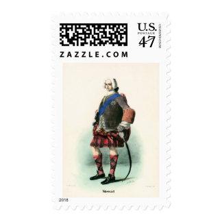 Clan Stewart Postage Stamp