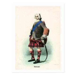 Clan Stewart Postcard
