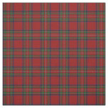 Clan Stewart Royal Red Scottish Tartan Fabric