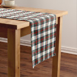 Clan Stewart Scottish Dress Tartan Short Table Runner