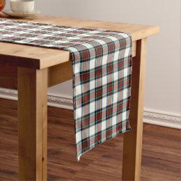 Clan Stewart Scottish Dress Tartan Short Table Runner