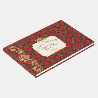 Clan Stewart Tartan Pattern Wedding Guestbook #3