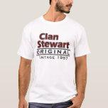 Clan Stewart Vintage Customize Your Birthyear T-Shirt