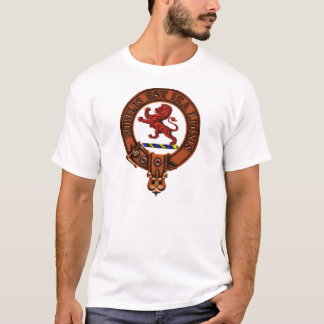 Clan Stuart of Bute Family Crest and Targe T-Shirt