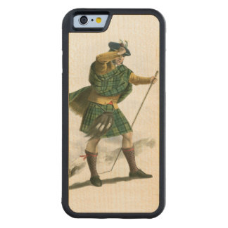 Clan Sutherland Carved Maple iPhone 6 Bumper Case