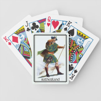 Clan Sutherland Classic Scotland Bicycle Deck Bicycle Playing Cards