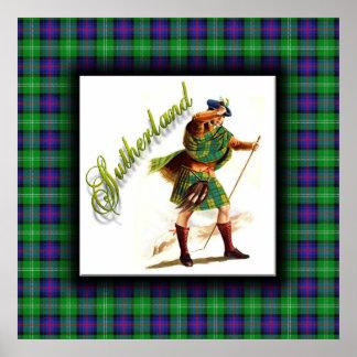 Clan Sutherland Scottish Dream Poster
