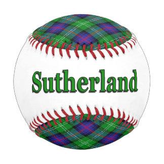 Clan Sutherland Scottish Tartan Dreams Baseball
