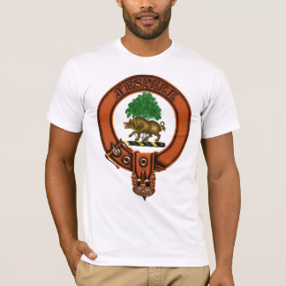 Clan Swinton Family Crest and Targe T-Shirt