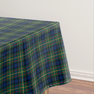 Clan tartán escocés azul y verde de MacLaren Mantel De Tela
