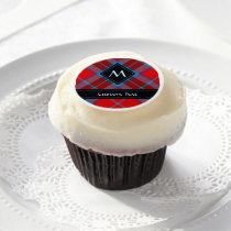 Clan Thompson Tartan Edible Frosting Rounds