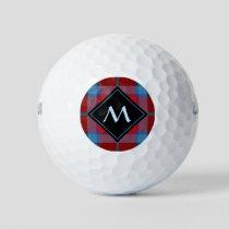 Clan Thompson Tartan Golf Balls