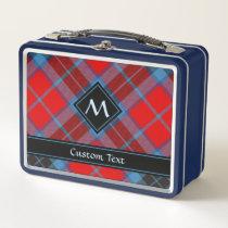 Clan Thompson Tartan Metal Lunch Box