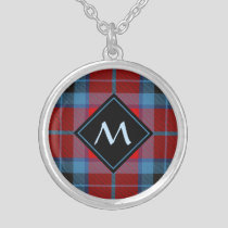 Clan Thompson Tartan Silver Plated Necklace