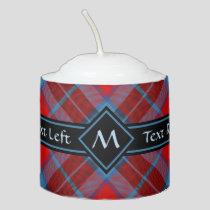 Clan Thompson Tartan Votive Candle