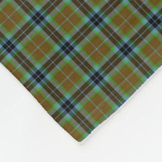 Clan Thomson Tartan Fleece Blanket