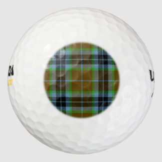 Clan Thomson Tartan Golf Balls