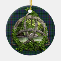 Clan Walker Tartan Celtic Trinity