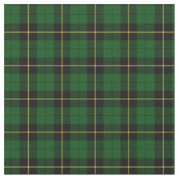 Clan Wallace Hunting Tartan Fabric