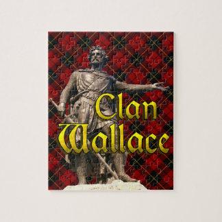 Clan Wallace Scottish Freedom Jigsaw Puzzle