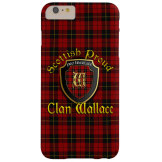 Clan Wallace Scottish Proud iPhone 6 Barely There iPhone 6 Plus Case