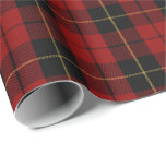 Clan Wallace Scottish Tartan Wrapping Paper