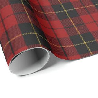 Clan Wallace Scottish Tartan Wrapping Paper