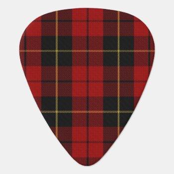 Clan Wallace Sounds Of Scotland Tartan Guitar Pick by OldScottishMountain at Zazzle