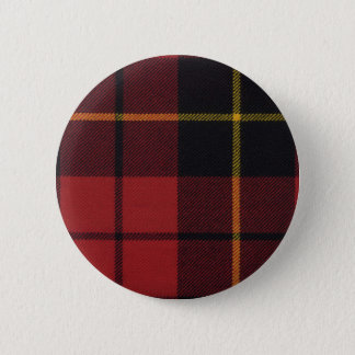 Clan Wallace Tartan Button