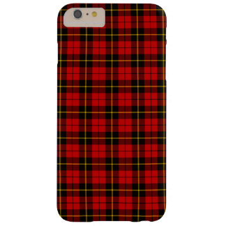 Clan Wallace Tartan Barely There iPhone 6 Plus Case