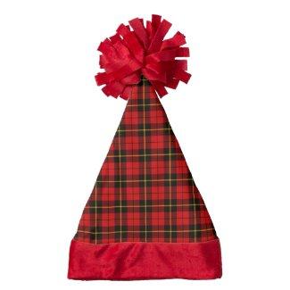 Clan Wallace Tartan Santa Hat