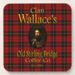 Clan Wallace's Old Stirling Bridge Coffee Co. Beverage Coasters