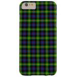 Clan Watson Tartan Barely There iPhone 6 Plus Case