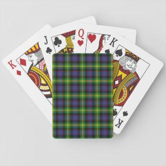 Clan Watson Tartan Playing Cards