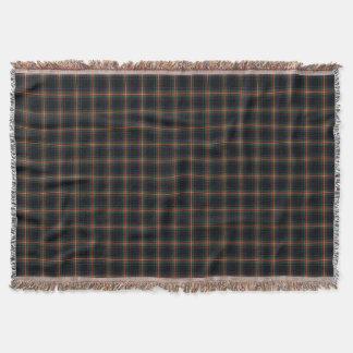 Clan Watt Tartan Throw Blanket