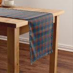 Clan Wilson Blue, Green, and Red Scottish Tartan Short Table Runner