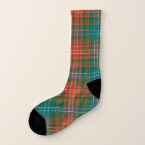 Clan Wilson Plaid Socks