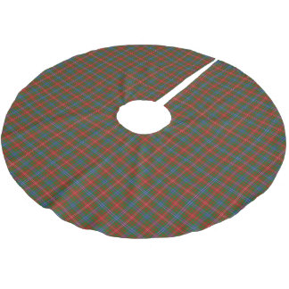 Clan Wilson Tartan Brushed Polyester Tree Skirt