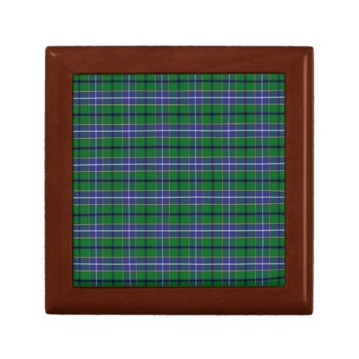 Clan Wishart Hunting Tartan Keepsake Box