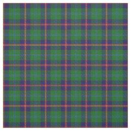 Clan Young Scottish Tartan Plaid Fabric