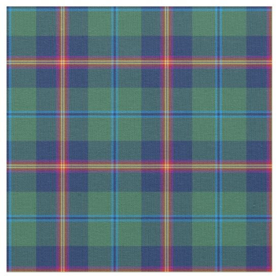 Clan Young Tartan Fabric