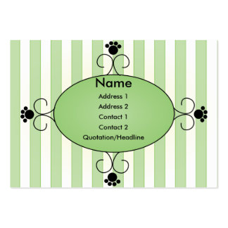 Clancey Fancy Pants Large Business Card