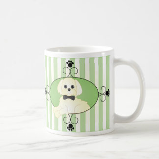 Clancey Fancy Pants Classic White Coffee Mug