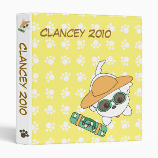 Clancey Goes on Vacation Binder