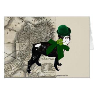 Clancey O Doggy St Patricks Day Card