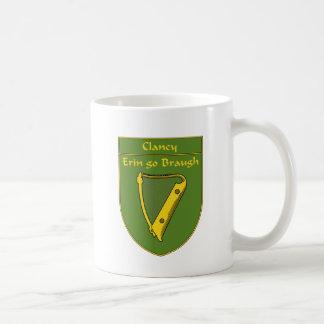 Clancy 1798 Flag Shield Classic White Coffee Mug