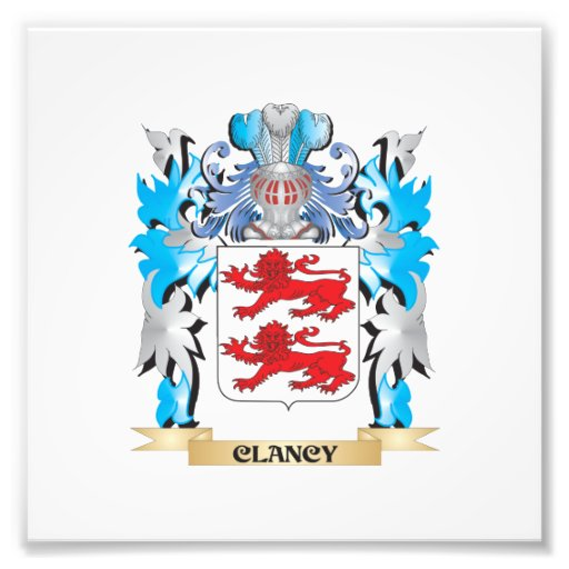 Clancy Coat of Arms - Family Crest Photo