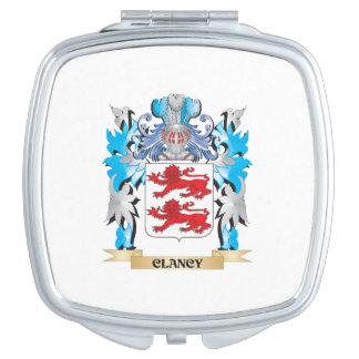 Clancy Coat of Arms - Family Crest Mirror For Makeup